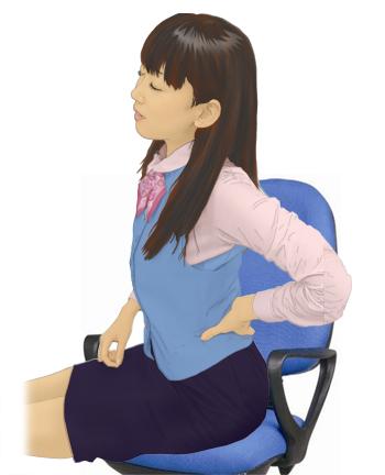 デスクワークと腰痛02